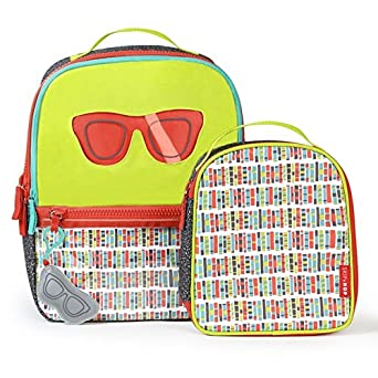 2b4130a01921 Amazon.com  SkipHop Girls  Forget ME NOT Backpack   Lunch Bag-Specs ...