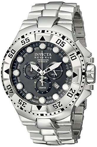 invicta-mens-13082-excursion-reserve-chronograph-charcoal-grey-dial-stainless-steel-watch