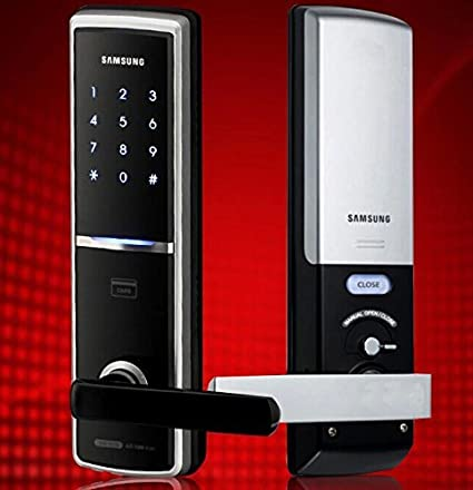 Samsung Smart Door Lock EZON SHS-H625 SHS-H625FMK/EN Digital Door Lock & Samsung Smart Door Lock EZON SHS-H625 SHS-H625FMK/EN Digital Door ...