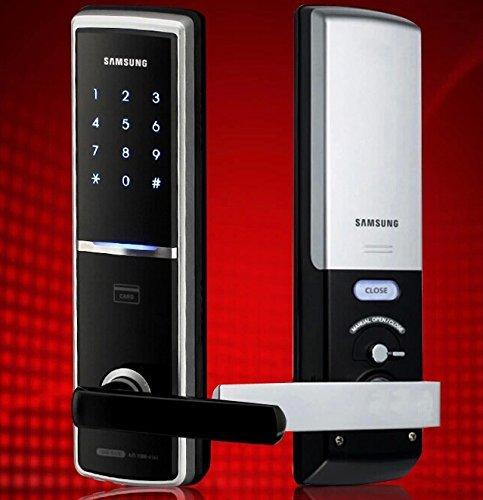 Samsung Smart Door Lock EZON SHS-H625 SHS-H625FMK/EN Digital Door Lock ENGLISH VERSION* (New version of SAMSUNG SHS-5120) by Samsung