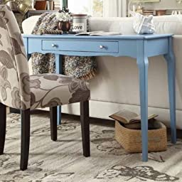 Catalpa Writing Desk, Blue
