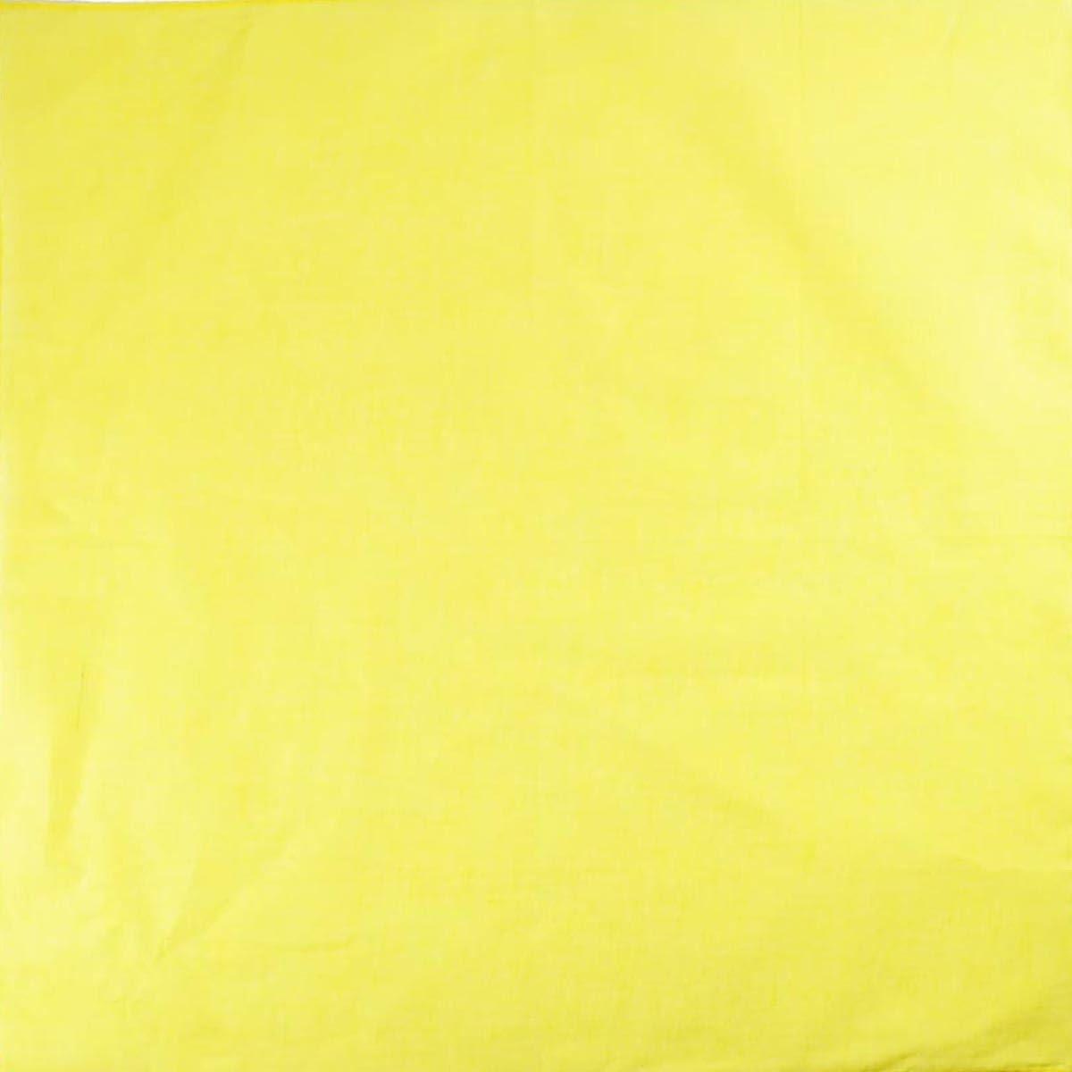 """Scarf Wristband 22/"""" x 22/"""" 55 x 55cm Unisex Men Woman Plain Solid Colour 100/% Cotton Bandana Head Neck Wrist Handwrap"""