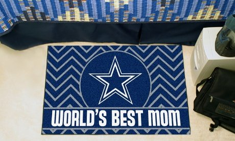 FANMATS 18047 Washington Redskins World's Best Mom Starter Rug 20