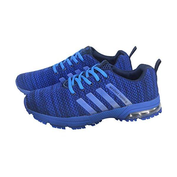 wealsex Chaussures De Course Basket Running Compétition Sport Trail Entraînement Homme Femme Fitness Tennis Sneakers 35-46 accessoires de fitness [tag]