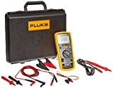 Fluke 1587T Insulation Multimeter for Telecommunications Testing, LCD Display, 100 Megohms Insulation Resistance, Up to 100V Insulation Test Voltage