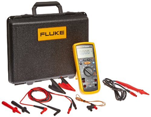 Fluke 1587T Insulation Multimeter for Telecommunications Testing, LCD Display, 100 Megohms Insulation Resistance, Up to 100V Insulation Test Voltage by Fluke