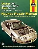 Chrysler LHS, Concorde, 300M & Dodge Intrepid, 1998-2003 (Haynes Repair Manuals) 1st edition by Haynes (2004) Paperback