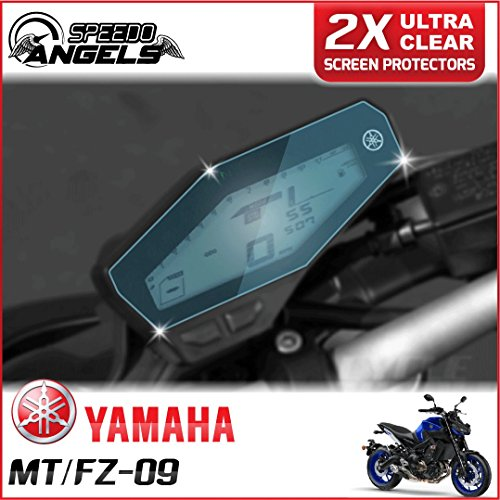 2 x YAMAHA MT-09 / FZ-09 Dashboard/Instrument Cluster screen protector - Ultra Clear hot sale n5QZEMfs