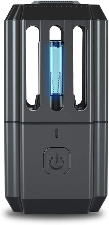 UV-Licht Sterilisator Tragbare Lampe Desinfektionsmittel Reise Zauberstab Antibakterielle Rate 99/% UV-Lampe ohne Chemikalien f/ür Hotel Haushalt Kleiderschrank Toilette Auto Haustier Bereich