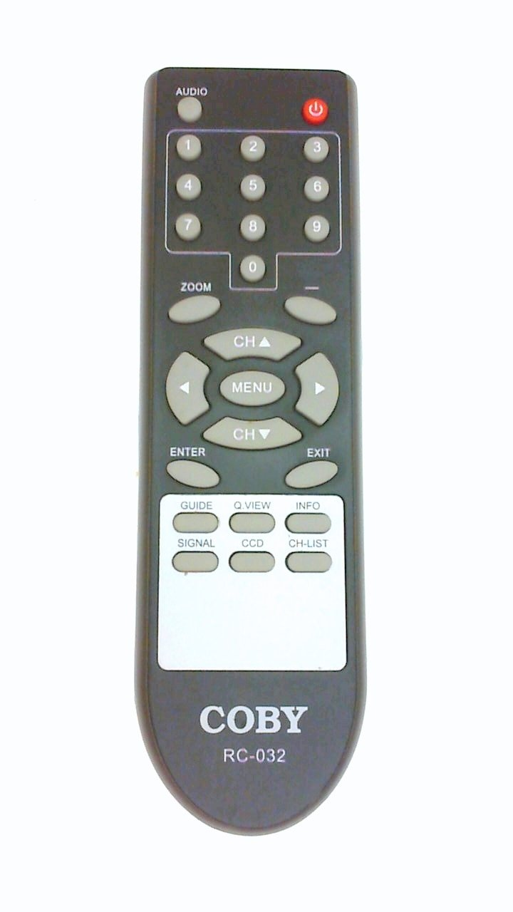 Amazon.com: New COBY ATSC Converter box Remote control RC-032 rc032 for  DTV100 DTV101 DTV102 DTV103 digital box: Home Audio & Theater