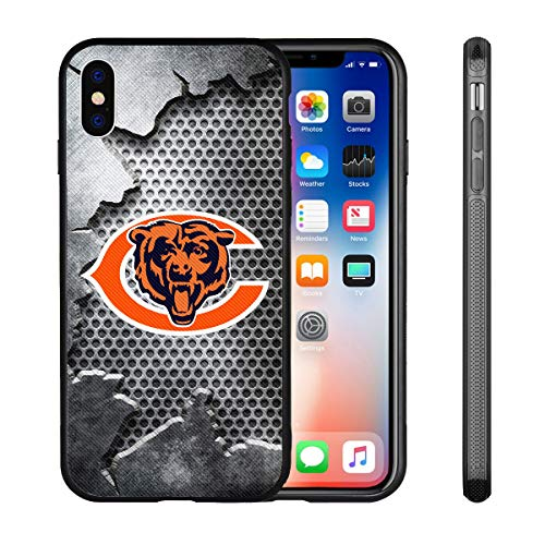 Bears iPhone X Xs Case iPhone X Bears Design Case TPU Gel Rubber Shockproof Anti-Scratch Cover Shell for iPhone Xs/iPhone X 5.8-inch