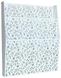 Design Ideas Vinea Wall File, White
