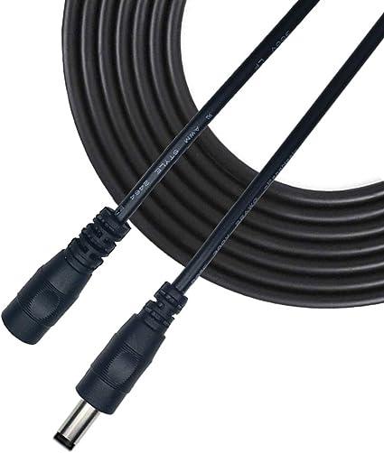 Liwinting 5m 16 4feet Dc Verlängerungskabel 5 5mm X Elektronik