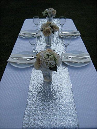 Sparkle Glitter Wedding Runners Tablecloth