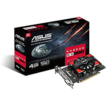 ASUS Radeon 4G GDDR5 Graphics-Cards RX 550
