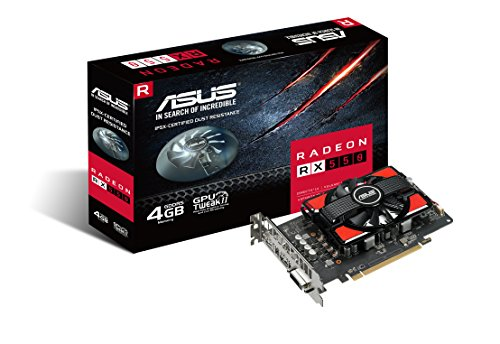 ASUS Radeon 4G GDDR5 Graphics-Cards RX 550