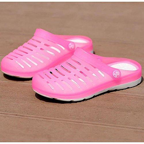 DULEE - Sandalias deportivas para mujer Rosa