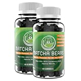 Cheap Matcha Bears Matcha Infused Gummy Vitamin & Supplement Made with Ceremonial Grade Green Tea Matcha Powder | Natural Antioxidant Powerhouse (120 Gummies)