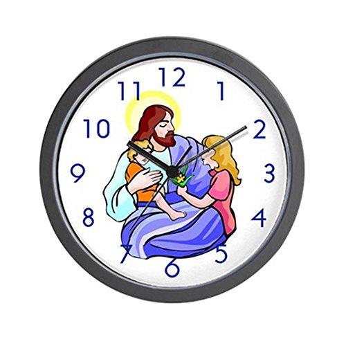 "CafePress – ""Jesus & Child"" Wall Clock – Unique Decorative 10″ Wall Clock"