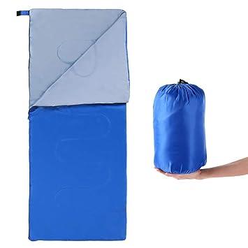 Lixada Saco de Dormir Ultra Ligero 180 * 75cm 5-15°C Sin Capucha/con Capucha para Acampada Senderismo al Aire Libre: Amazon.es: Deportes y aire libre