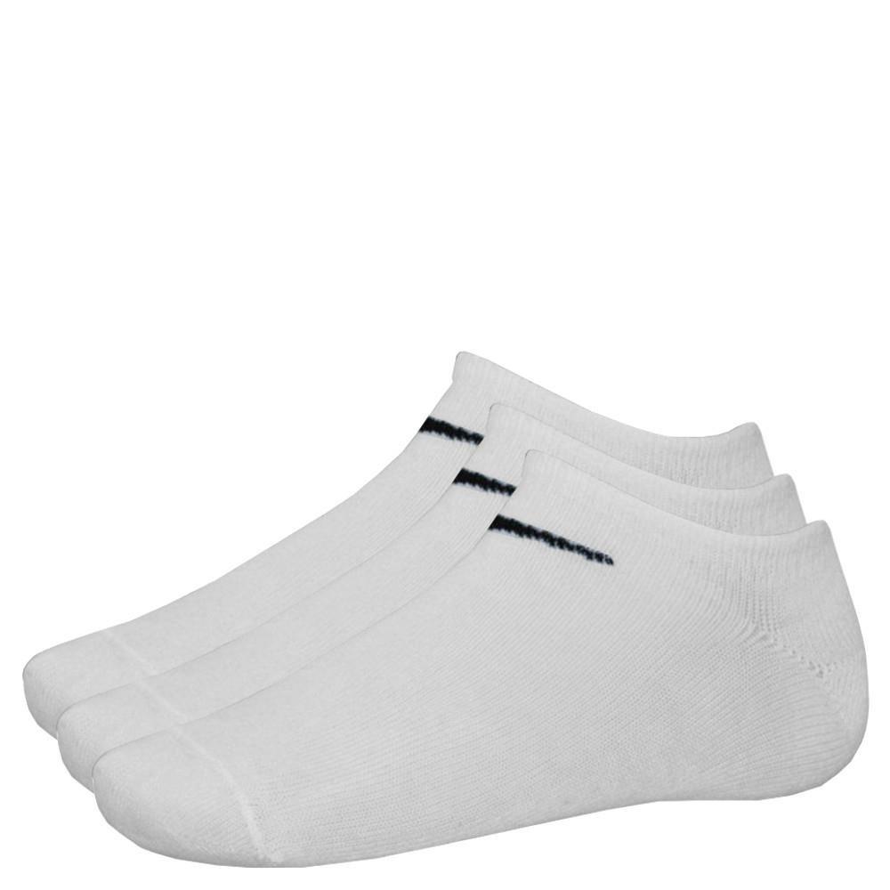 9 Paar NIKE Sneaker-Socken NO Show weiß M (38-42) SX2554-101