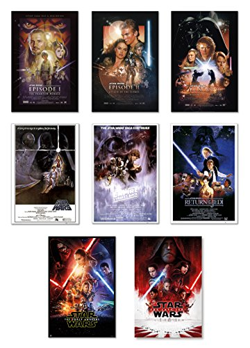 Star Wars: Episode I, II, III, IV, V, VI, VII & VIII - Movie