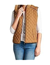 Women's Quilted Vest Jacket Coat