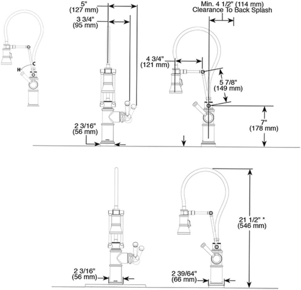 Brizo 63225lf Pn Polished Nickel Artesso Single Handle Articulating Arm Kitchen Faucet Amazon Com