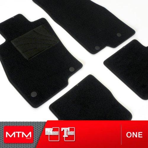 MDM Fussmatten i40 CW ab 07.2011- Passform wie Original aus Velours Automatten mit Absatzschoner aus Textile Rand rutschhemmender One 1443 cod