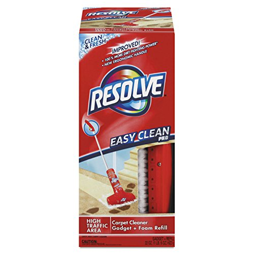 Price comparison product image Resolve Easy Clean Pro Carpet Cleaner Gadget & Foam Spray Refill,  Clean & Fresh 22 oz Can,  Carpet Shampooer System