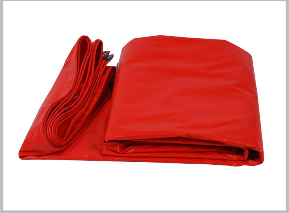 FSBFF Regenproof Tuch, Plane Linoleum Plane LKW LKW LKW Schuppen Tuch rotes Zelt Tuch B07HQW5Z5T Zeltplanen Leicht zu reinigende Oberfläche 89a012