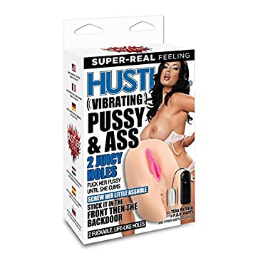 Hustler vibrating pussy and ass
