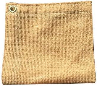XTARPS – 8 ft. x 8 ft. – 7 OZ Premium 90 Shade Cloth, Shade Sail, Sun Shade TAN Color