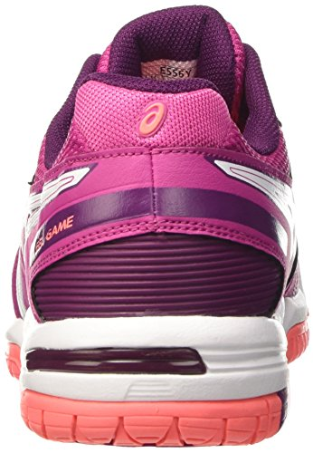 baie Chaussures Tennis Rose Blanc Femme De 2101 Prune game Asics Gel 5 w8gwFqr