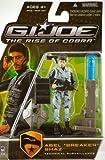 "G.I. Joe The Rise of Cobra 3 3/4"" Action Figure Abel ""Breaker"" Shaz (Technical Surveillance)"