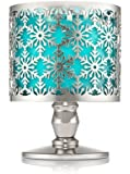 Bath and Body Works Delicate Snowflake Pedestal 3 Wick Candle Sleeve.