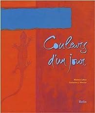 Book's Cover ofCouleurs d'un jour
