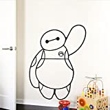 BAYMAX Big Hero 6 Vinyl Decal Removable WALL STICKER Kids Baby Home Decor Art