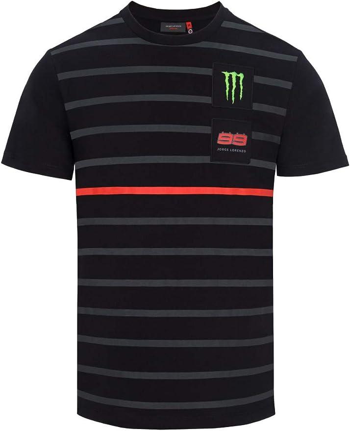 Jorge Lorenzo Camiseta Monster para Hombre en Color Negro ...