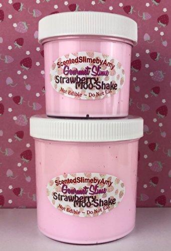 Strawberry Moo-Shake Slime - 6 oz