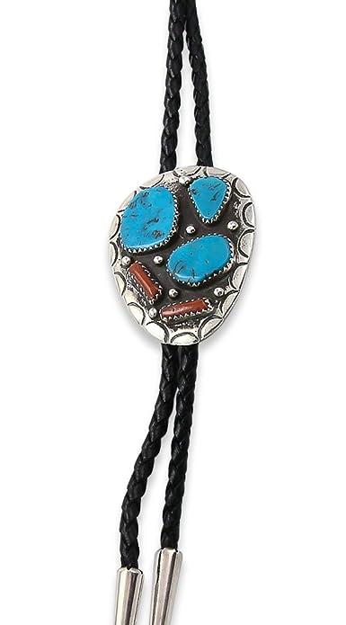 Mesa Verde Traders Inc. Vintage Navajo Turquesa y Coral Plateado ...