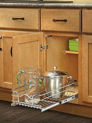 Rev-A-Shelf - 5WB1-0918-CR - 9'' Single Wire Basket by Rev-A-Shelf (Home)