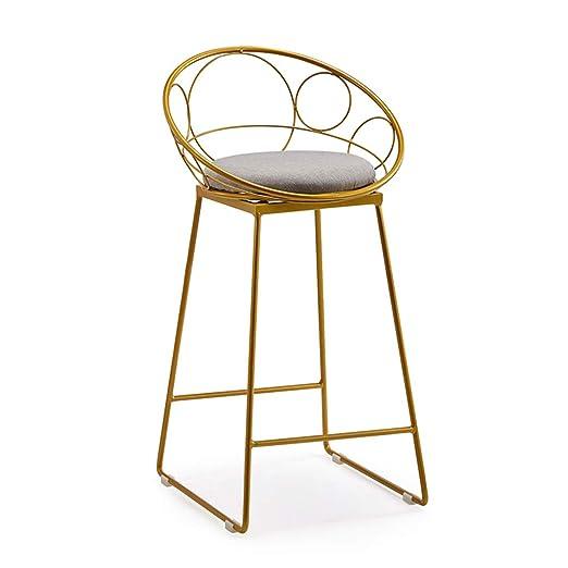 Amazon.com: Taburete de estilo industrial, silla con ...