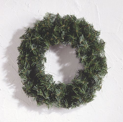 Canadian Pine Wreath - 180 Tips - Green - 20 inches (1 pack) -