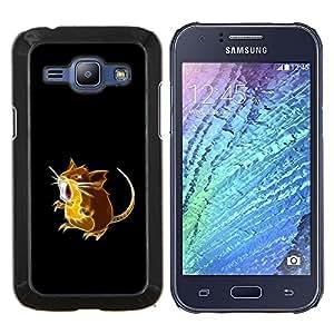 EJOOY---Cubierta de la caja de protección para la piel dura ** Samsung Galaxy J1 J100 ** --P0kemon Ratón