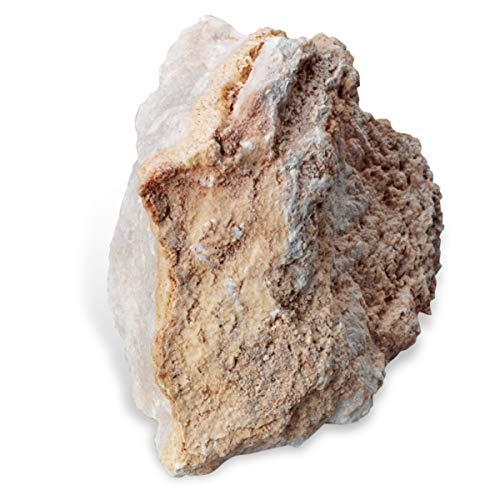 American Educational White Massive Alabaster Gypsum Mineral, - Carving Alabaster