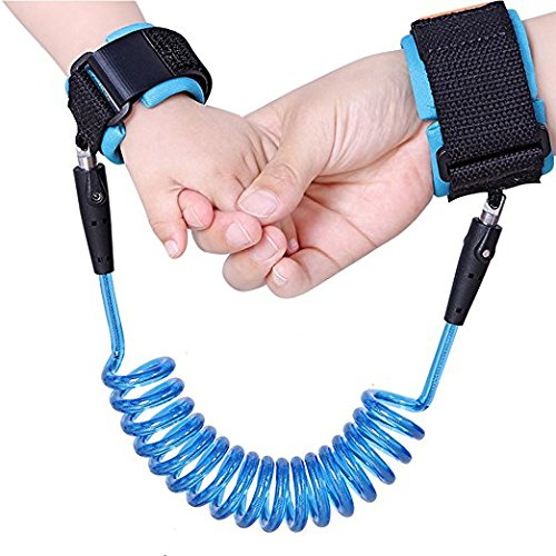 YOCKE Baby Child Anti Lost Wrist Link Safety Harness Strap Rope Leash Walking Hand Belt