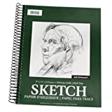 Jack Richeson 11-Inch-by-14-Inch Drawing Paper Pad, 100-Sheet Spiral