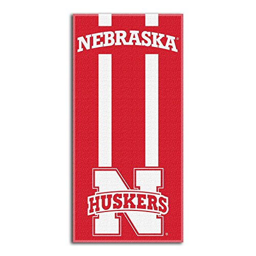 (Northwest NCAA Nebraska Cornhuskers  Beach Towel,  30 x 60-inch)