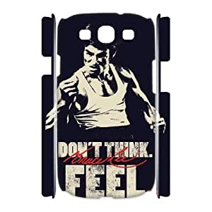 ANCASE Custom Color Printing Bruce Lee Phone 3D Case For Samsung Galaxy S3 I9300 [Pattern-3]